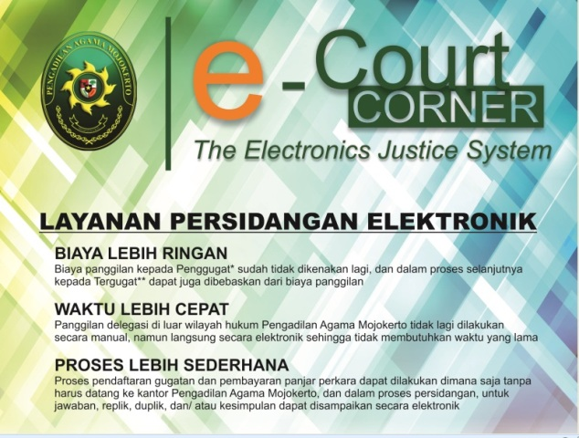 e - Court (THE ELECTRONICS JUSTICE SYSTEM)